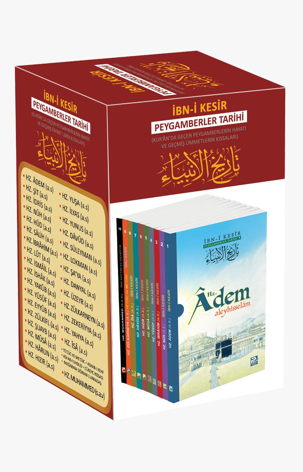 peygamberler tarihi 10 kitap fitrat kitabevi